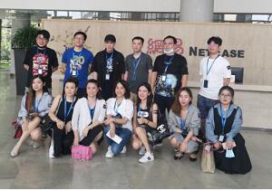 杭州热讯互娱科技走进网易,学习网易的产品运营